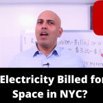 How is Electricity billed for office space in NYC?