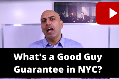 Whats a good guy guarantee in NYC office space