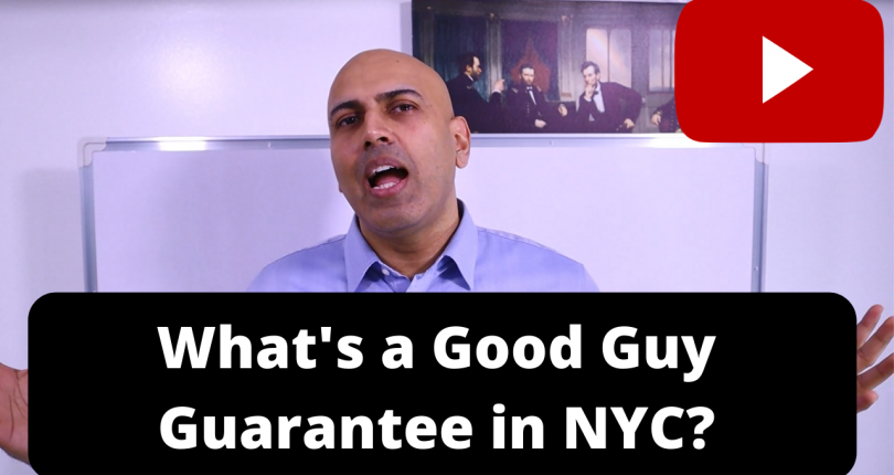 What's a Good Guy Guarantee in NYC office space?