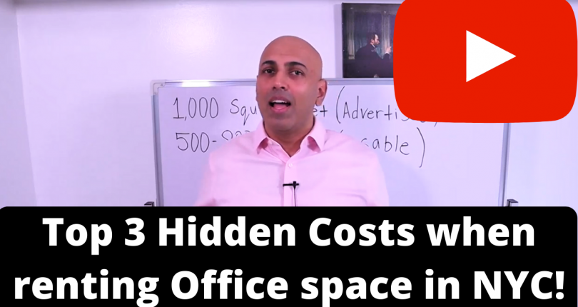 Top 3 Hidden cost when renting office space in NYC!