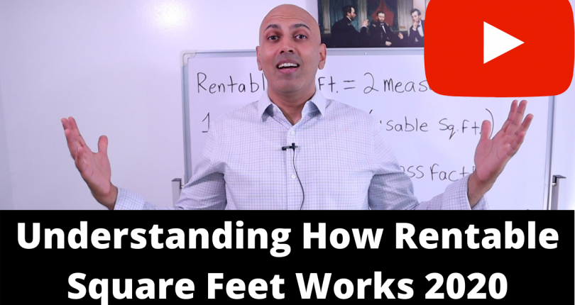Understanding how Rentable Square Feet Works 2020